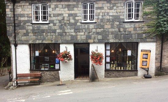 St. Mawgan, UK: Hawkeys Cafe