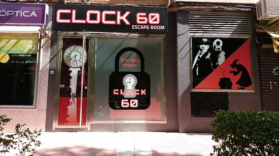 Mostoles, Spain: Clock60 Escape room