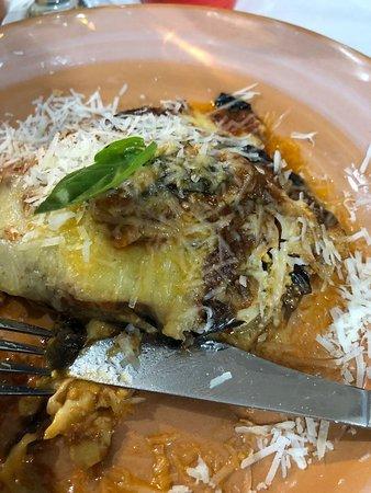Taberna Sveva: la parmigiana...come antipasto!