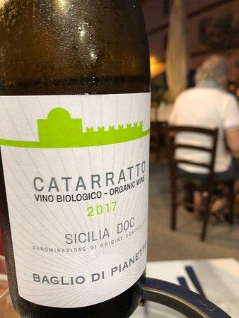 Taberna Sveva: ottimo questo vino bio