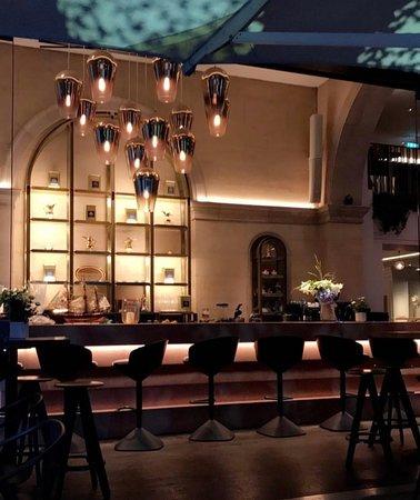 Blue Garden Restaurant London Trafalgar Square