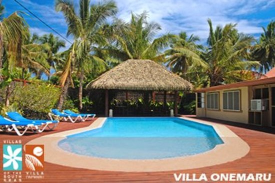 Aroa Beach, Islas Cook: Pool