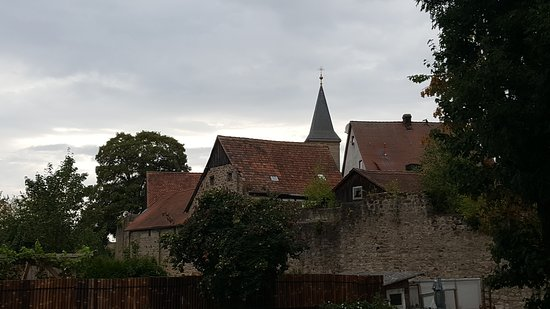 Leutershausen, Németország: Widok na stare miasto