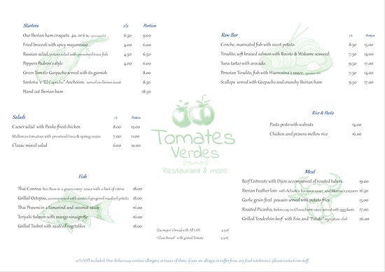 tomates verdes restaurant more carta 3