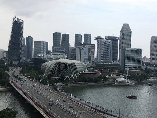 View from The Lighthouse Restaurant and Rooftop Bar, Singapore
