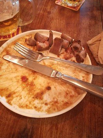 Primo pranzo a barcelona