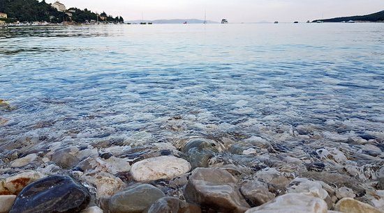 Rabac, Croatia: пляж