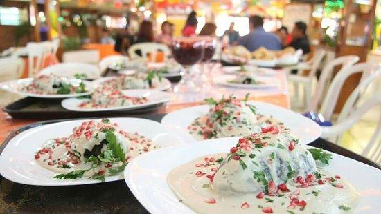 Chalco Municipality, Mexico: Chiles en Nogada
