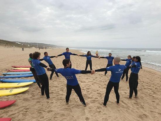 Trafaria, Portugal: SURF SQUAD !
