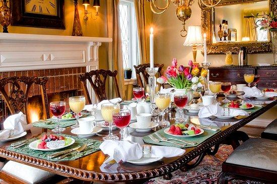 إقامة وإفطار بفندق إنجليش باي إن: Restaurant