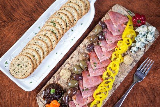 Mendon, Estado de Nueva York: appetizer plate