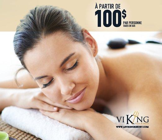 Sainte-Marguerite-du-Lac-Masson, Canadá: Soins de massothérapie / massage therapy