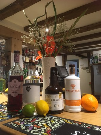Bramfield, UK : Always an interesting and ever growing collection of gins to try