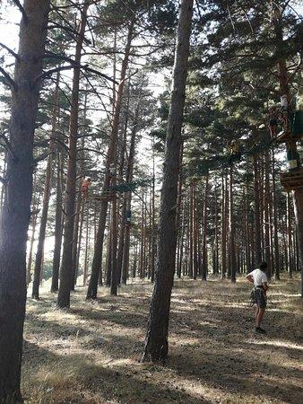Cerezo de Arriba, Spanien: Multiaventura Campo Base