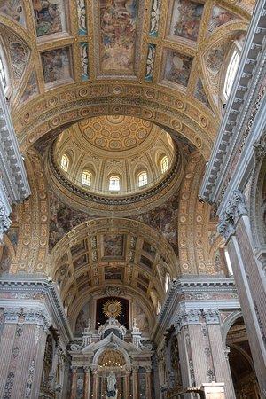 Gesu Nuovo Church: plafond