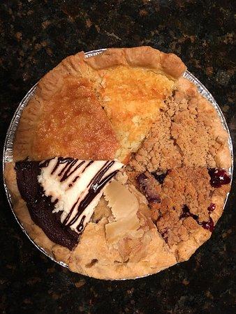 Monroe, VA: Sampler pie of six chosen slices