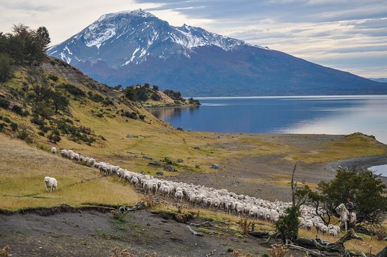 Estancia La Peninsula: A ranch surrounded by fjords and mountains
