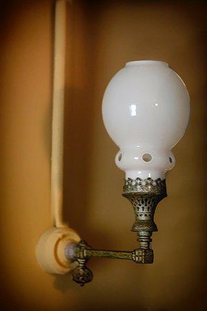 Adams National Historical Park: Adams House Gas Lamp