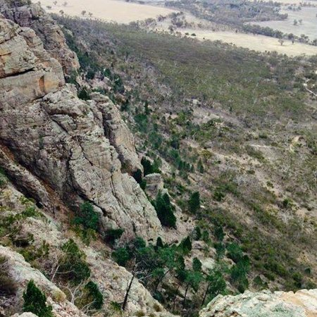 Natimuk, Australie : Mount Arapiles Summit