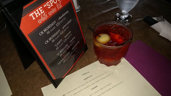 The Spot Supper Club - Buskey Bay- Pike Chain Iron River WI -Old Fashioned - Wisconsin Supper Cl
