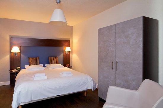 Saint-Jean-de-Minervois, France: Guest room