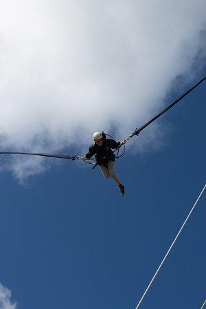 Silverdale, Новая Зеландия: Shooting Star - Vertical Bungy