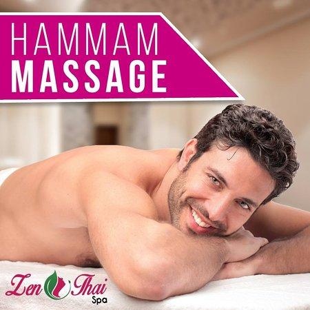 Zen Thai Spa:  hammam 45 min massage tonique 60 min