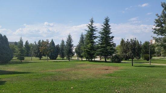 Podgorica, Montenegro: Il parco