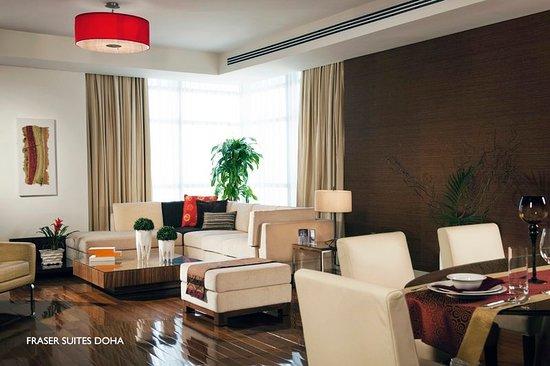 Fraser Suites Doha: Guest room