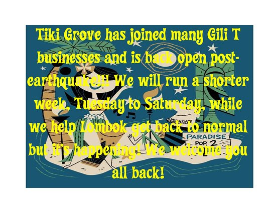 Tiki Grove: We're Back, Baby!