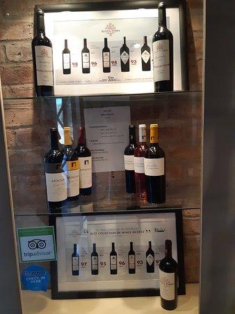 Bodega Achaval Ferrer: Amostra de vinhos