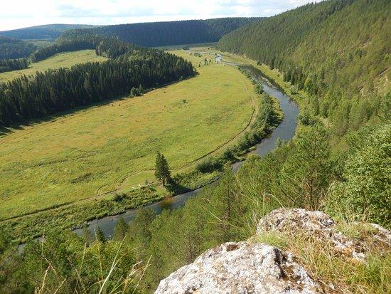 Perm Krai, Rússia: Вакутин (Серый) камень