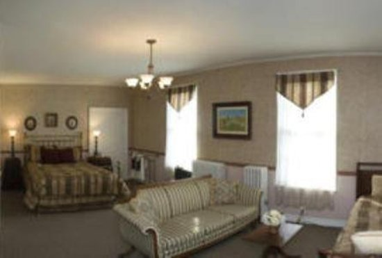 Lansing, NY: Guest room
