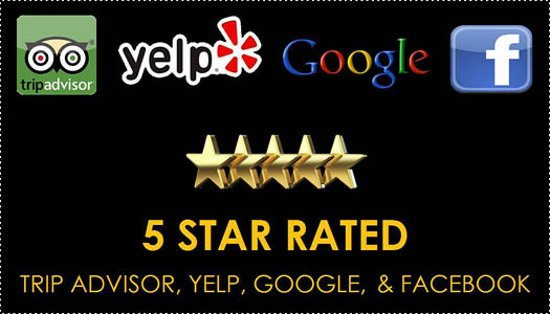 Moses Wine Tours Is 5 Star Rated On Trip Advisor Yelp Google