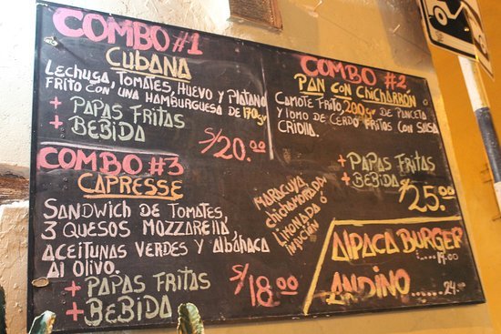Juanito's: prices!