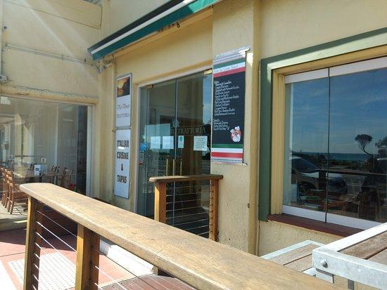 Dromana, Australien: Outside deck