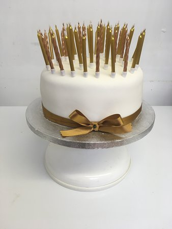Angel Cakes Cake Shop Tearoom Golden Anniversary With 50 Candles