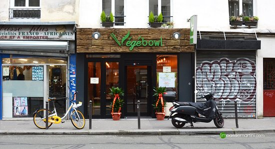 vegebowl paris 22 24 rue du faubourg saint martin 10e arr entrep t restaurant avis. Black Bedroom Furniture Sets. Home Design Ideas