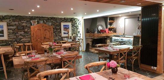Villaroger, Frankreich: Salle du Restaurant