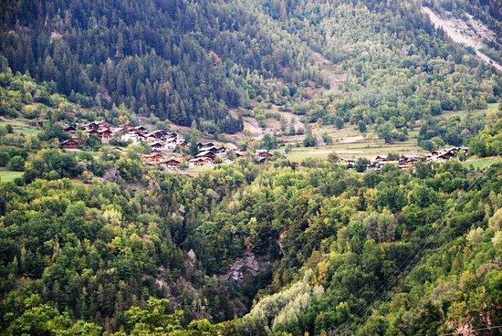 Villaroger, Frankreich: Vue sur Le Miroir & La Mazure