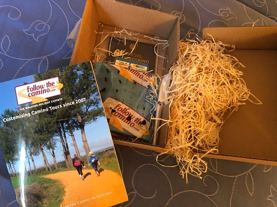 Follow The Camino: Welcome kit