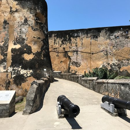 Fort Jesus Museum: Views of and from fort Jesus