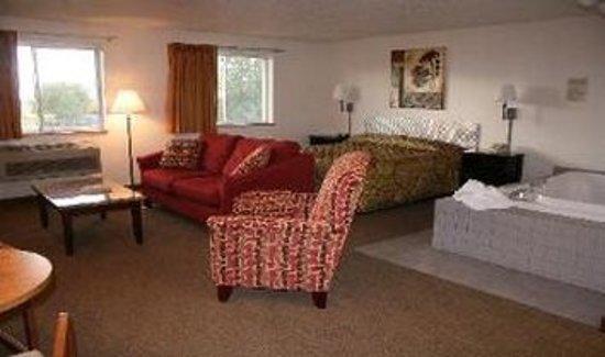 Marysville, Κάνσας: Guest room