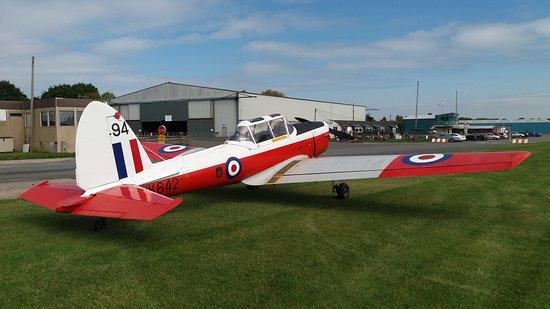 Shobdon airfield from airside.