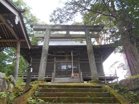 Matsubara Suwa Shrine Kamisha