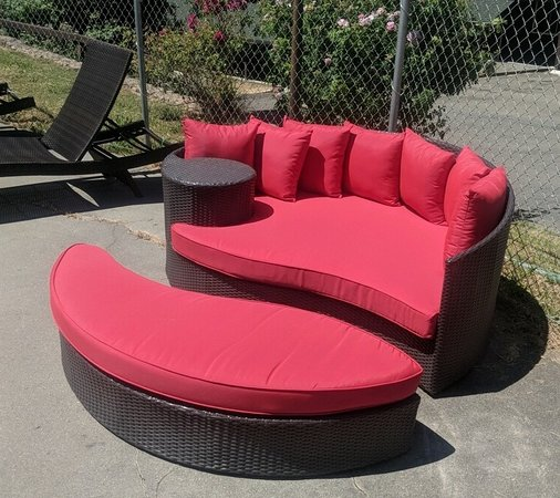 new loveseat lounge chairs outdoor couch for pool area picture rh tripadvisor com