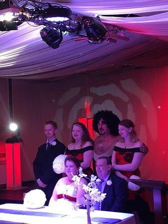 Viva Blackpool: our wedding renewal