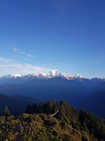 Sunrise view of Mt.Dhaulagiri 8172m.