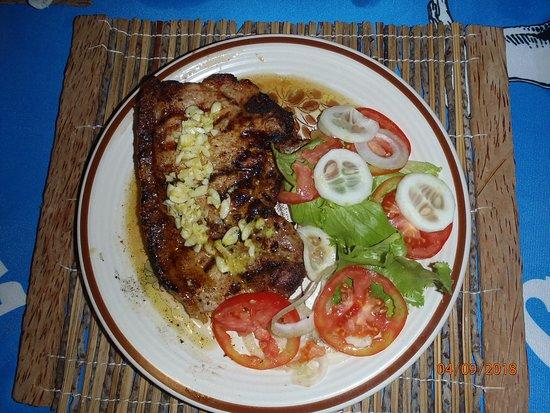 Tofinho, Mozambique: Restaurant food