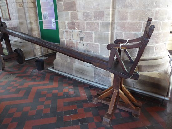 The Ducking Stool: The chair where the scold was restrained